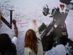 Michael Jackson Wall Memorial